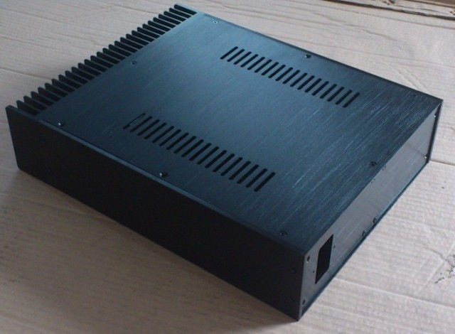 A09 Full Aluminum Enclosure / mini AMP case/power amplifier box/ chassis-YD 4308 rounded chassis full aluminum enclosure power amplifier box preamplifier chassis