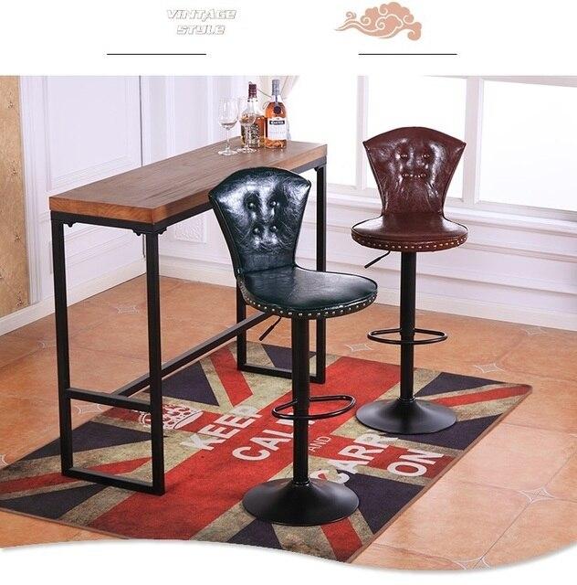 Bar stuhl heben drehung schwarz rot farbe hocker pu leder flanell ...