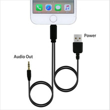 3.5mm Car Stereo Auxiliary Aux Cord Audio USB Charger Cable Data Cord For iPhone 7 6s Plus SE 5S ipod 5 6 ipad Mini Air 2/3/4