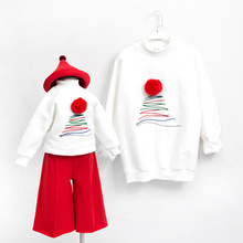 Family christmas pajamas family look christmas sweater family matching clothes mother and daughter clothes matching outfits