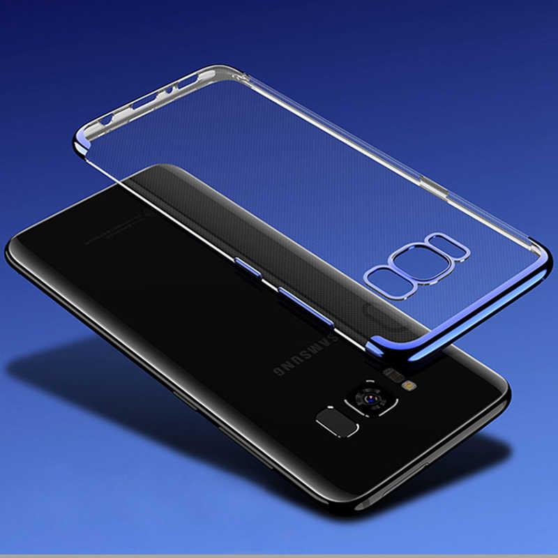 Блестящие Чехлы TeoYall для samsung Galaxy S8 S9 Plus, чехол из ТПУ, силиконовый защитный чехол для мобильного телефона для samsung Note 8 9, Fundas