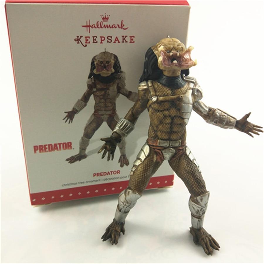 1pcs predator Aliens vs Predator Mode Doll PVC Action Figures christmas trees decoration toys aliens vs predator movie 30th corporal dwayne hicks