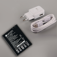 Original LG BL 45B1F Battery and charger For LG V10 H968 H961 BAK 110 F600 BL 45B1F H901 H900 3000mAh