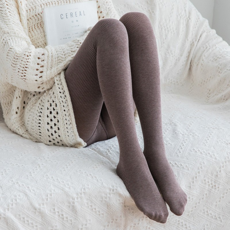 Pijama Inverno Roupa Interior Térmica Mulheres Inverno Outwear Quente Calças Skinny Kawaii Bonito Legins Spandex Meninas Leggings Estiramento Das Senhoras