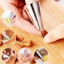 Практические палец протектор мясо Овощной орехи колоть Ножи защита от порезов рук полезные палец охранник для резки Кухня гаджет
