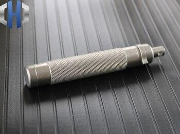 Outdoor Tactical Defense Survival Key Pendant Titanium EDC Short Tools