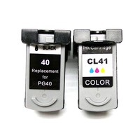 YOTAT 1set PG 40 CL 41 Remanufactured ink cartridge PG40 CL41 for Canon PIXMA IP2500 IP2600 MX300 MX310 MP160 MP140 MP150