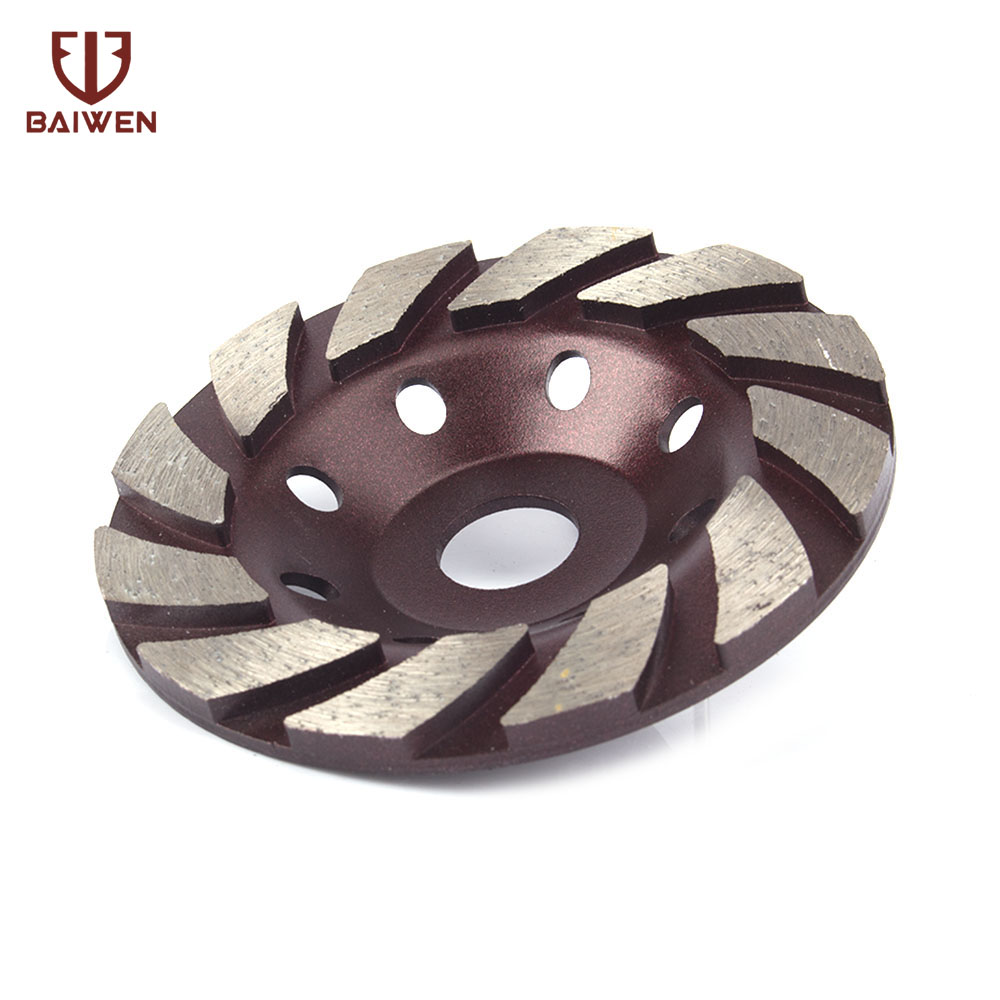 125*15*20mm Diamond Grinding Wheel Cup Disc For Concrete Ceramic Granite Polish