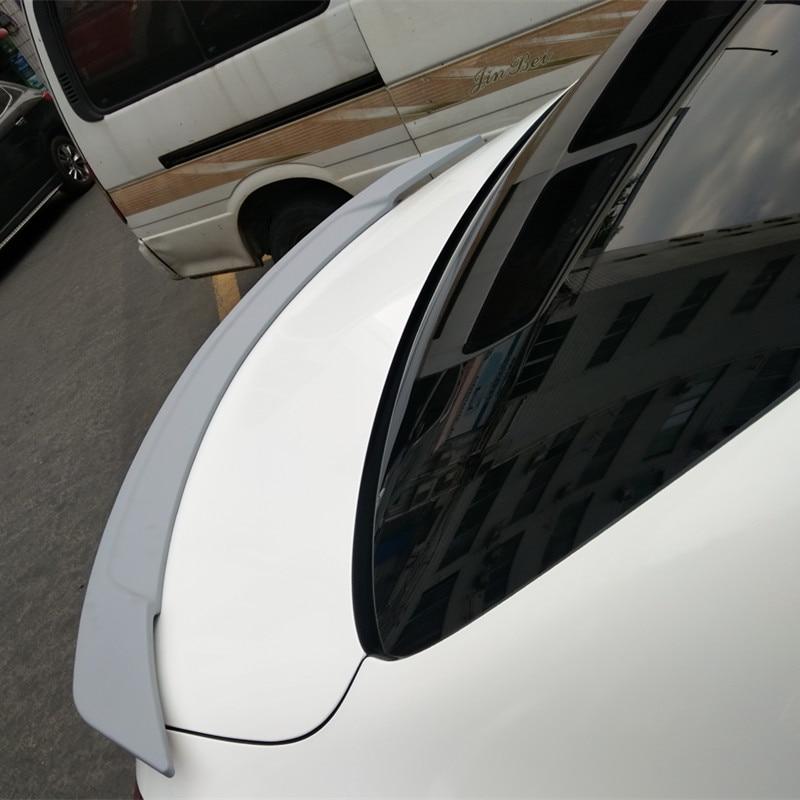 For Mercedes Benz E Class W213 Spoiler ABS Material Car Rear Wing primer  Color spoiler for E200L E300L E320 E63 E43 2016 2018-in Spoilers & Wings  from