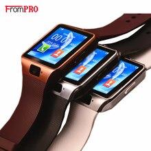 Dispositivos portátiles de frompro dz09 smart watch reloj de pulsera electrónica para xiaomi samsung teléfono android smartphone smartwatches salud