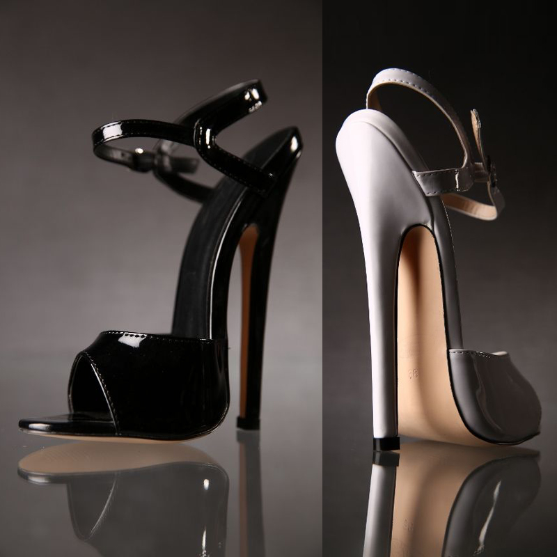 CDTS Crossdresser sexy Ankle Strap Sandals Plus:36-45 46 Summer high-heeled 16/18cm ultra thin heels shoes woman club pumps 20pcs lot ka331 dip 8