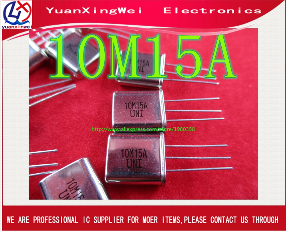 Free shipping 20PCS 10M15A 10M15 10.7MHZ Best quality image