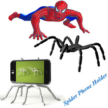 Top Quality Universal Auto Car Cellphone Holder Spider Solid Phone Holder Air Vent Mount Dock Mobile Phone Holder For iPhone 6s