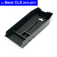 Front Rear Side Door Car Center Console Armrest Storage Box Container Holder Secondary Storage ForBenz E