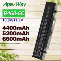 Apexway 11.1V batterie d'ordinateur portable Pour Samsung AA-PB9NS6B PB9NC6B R580 R540 R519 R525 R430 R530 RV511 RV411 RV508 R528 Aa Pb9ns6b