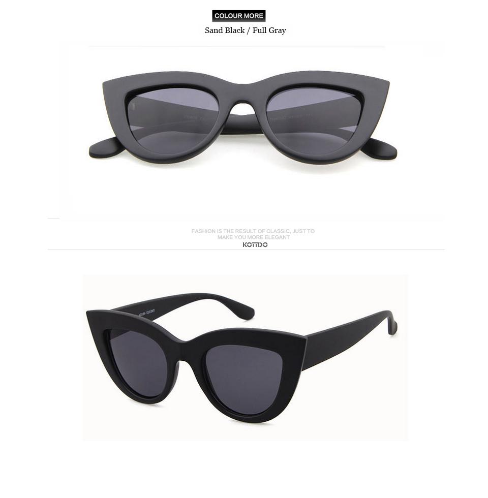 HTB1jrd1RVXXXXawXpXXq6xXFXXXn - Rose Gold Cat Eye Sunglasses For Women Pink Mirror Shades Female Sun Glasses Black White Coating Cateye Aviation Oculos 2018