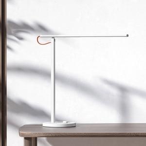 Image 2 - החדש Xiaomi Mijia חכם שלט רחוק שולחן שולחן מנורת 1 S 4 מצבי תאורה עמעום קריאת אור מנורת עם Mijia homeKit APP