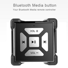 Bluetooth Remote Control Music Remote adjust volume for Samsung Android for Car Steering Wheel bike handle wireless Media Button