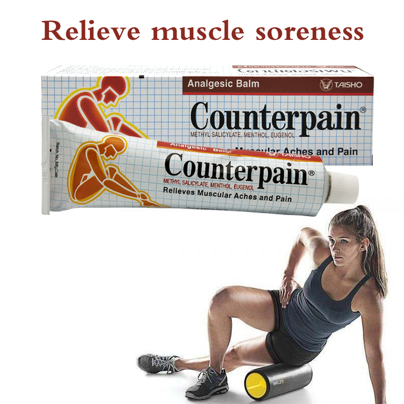 60g Thailand Counterpain Hot Analgesic Ointment Relieves Joint Arthritis Pain Muscle Ache Sports Injury Sprain Massage Cream(China)