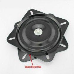 Hq SS06 6 بوصة (150 ملليمتر) أسود ورنيش يخبز والصلبة تحمل قطب لوحة ، بدوره لوحة ، قطب الدوار