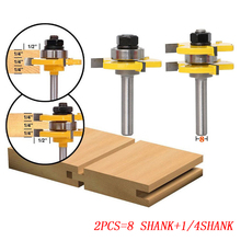 Free shipping 2Pc  mortise and 8-handle jigsaw floor stock Wood Cutting Tool 8mm Shaft High Quality Tool 3 teeth T-type ac 220v 7 teeth drive shaft electric hammer armature rotor for bosch gbh2 26e de re dre dsr dfr high quality free shipping