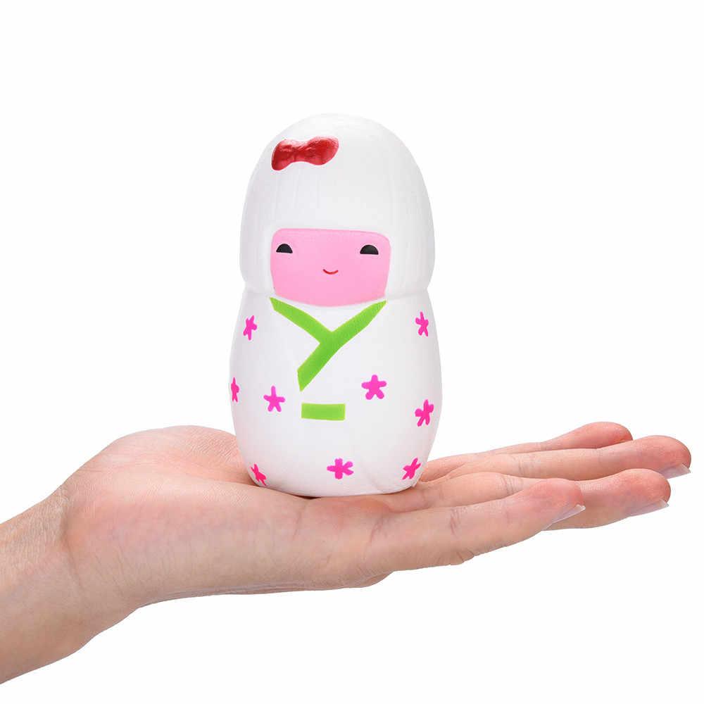 CHAMSGEND emulacji lalki pachnące Squishies powolne wschodzące dzieci zabawki zabawka antystresowa rekwizyty 4.18