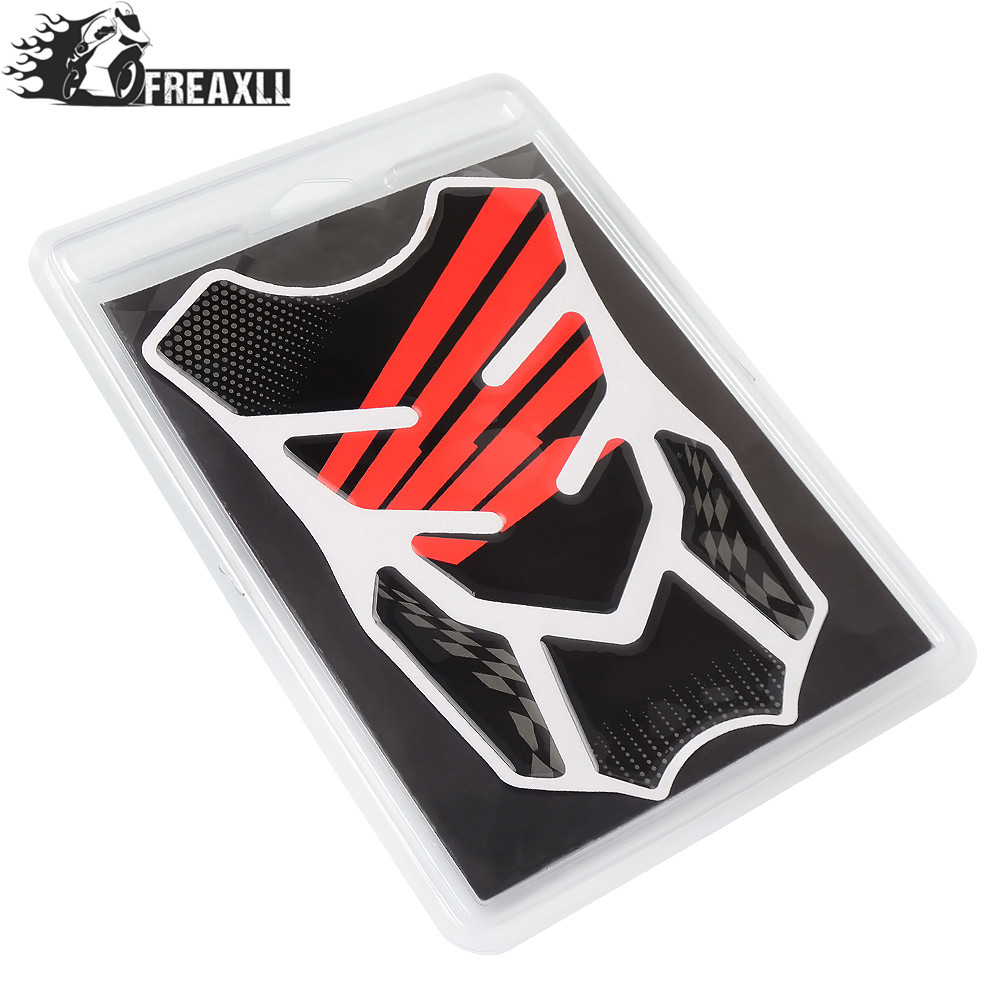Hot Sale Motorcycle Decal Gas Oil Fuel Tank Pad Protector Skull Bike Stickers Design Honda Dio Racing Sticker For Cb599 Cb600 F2f3f4f4i Cbr900rr With Logo