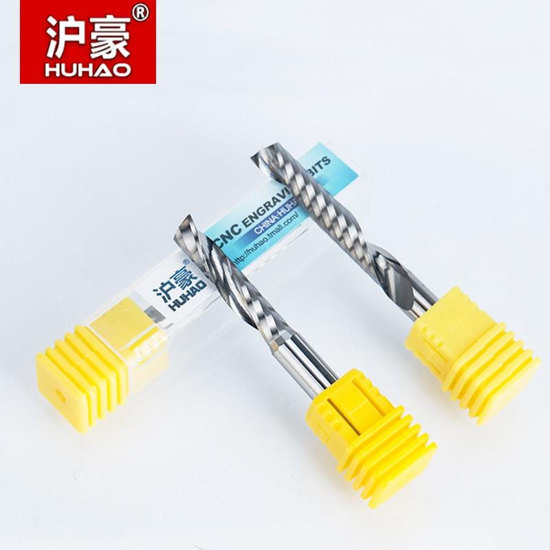 1 pz 6mm Singolo Flauto Spirale Taglierina Fresa CNC Fresa per Fresa - Macchine utensili e accessori - Fotografia 5