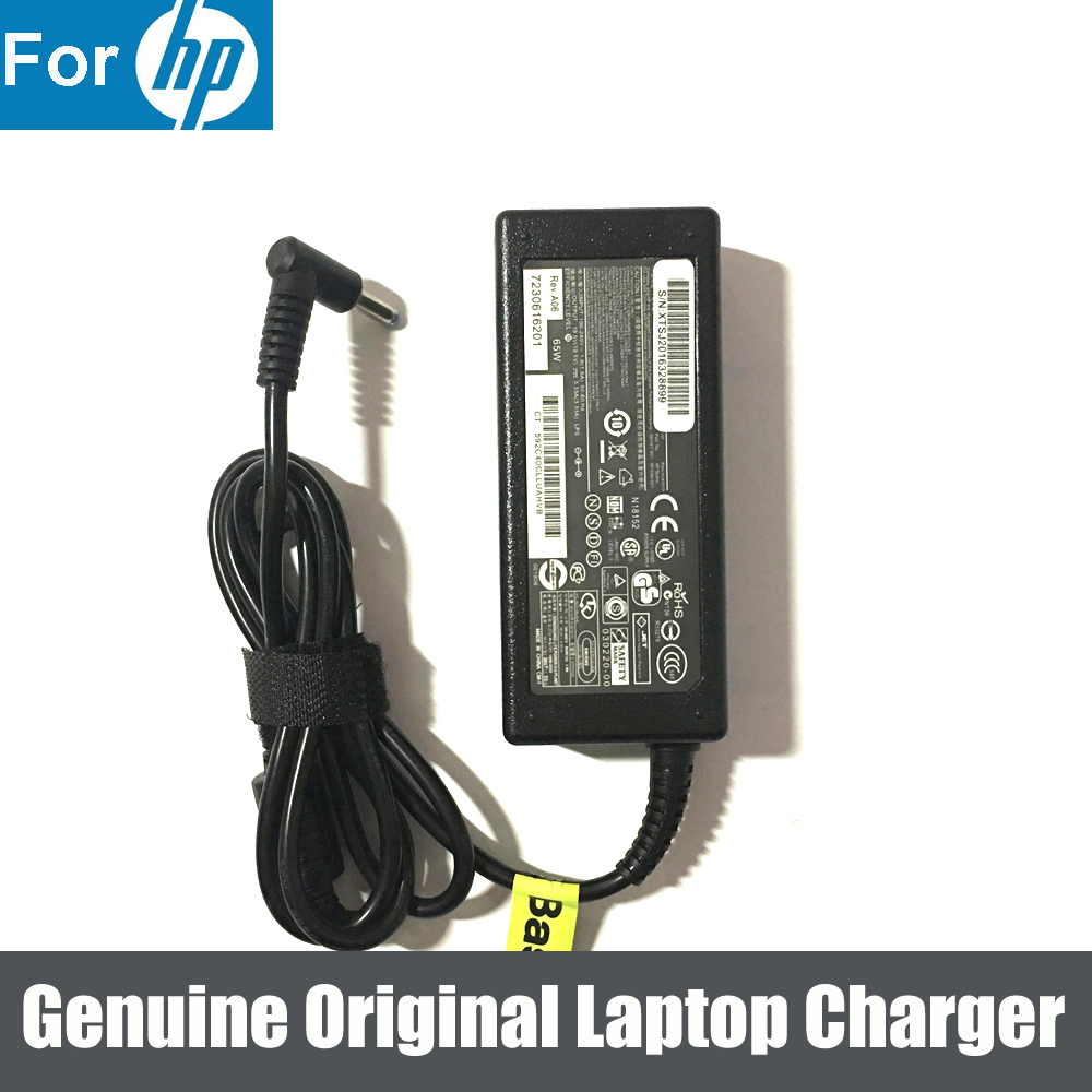 Genuine AC Power Adapter For HP Stream 11 13 14 15 Notebook PC Series 65W 19.5V