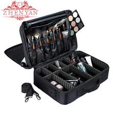 Профессиональный макияж организатор дорожная косметичка высокой емкости женский Make Up Box Bolso Mujer хорошее Хранения Туалетных принадлежностей чемоданы
