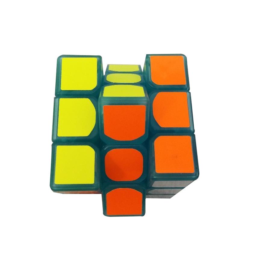 3 * 3 * 3 Mavi Aydınlık Pürüzsüz Hız neo Küp Çocuk Bulmaca - Oyunlar ve Bulmacalar - Fotoğraf 2