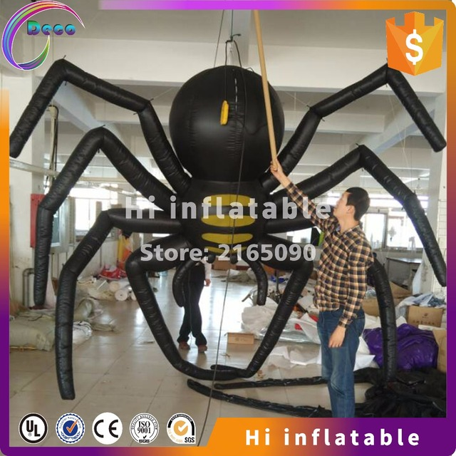 3m outdoor inflatable spider for halloween decoration sale