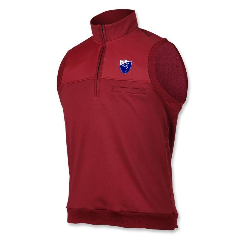באיכות גבוהה ללא שרוולים אפוד אפוד קטיפה עבה גברים ביגוד Windproof גולף חם מעילי פרווה לגברים בגדים חדשים ספורט