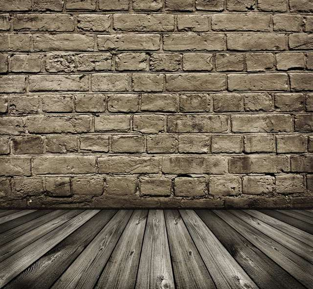 Real Dark Brick Wall Photography Backdrops Newborn 5ft X7ft Dark Wood Floor  Photo Background For Photo
