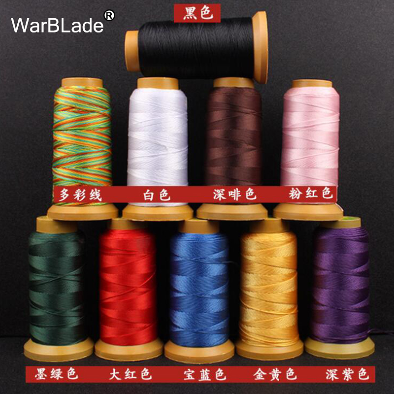 WarBLade Polyamide Cord 0.2mm 0.4mm 0.6mm 0.8mm 1mm Nylon Cord Sewing Thread Rope Silk Beading String For DIY Jewelry Making