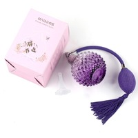Glass Vintage Crystal Empty Refillable Perfume Spray Atomiser W Gift Box Funnel