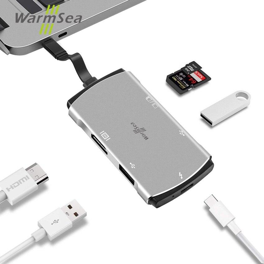 Dex Station Pour Samsung Galaxy S8 S9 S8 + S9 + Note 8 Mate10 P20 USB Type C Hub avec 4 k HDMI SD TF Lecteur de Carte pour Macbook Pro