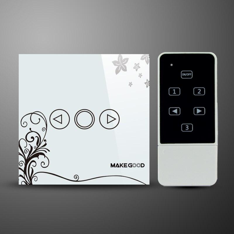 LED dimmer switch,EU standard,RF433MHz,glass panel touch dimmer switch touch switch eu standard dimmer