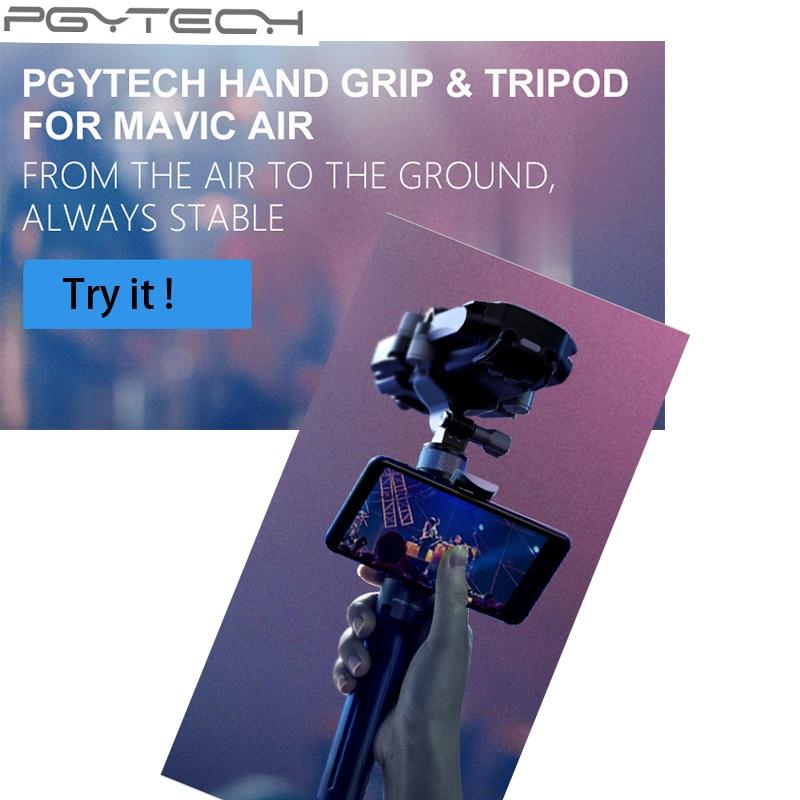 PGYTECH Multifunction Mavic Air  Selfie Sticks Handheld Gimbal Stabilizer Holde Action Camera Holder Tripod For DJI Mavic Air