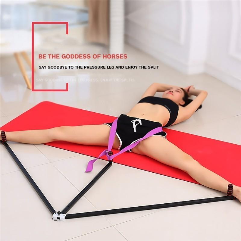 Iron Leg Stretcher Adjustable 3 Bar Legs Extension Split Machine Flexibility Training Tool For Ballet Balance Fitness Equipment