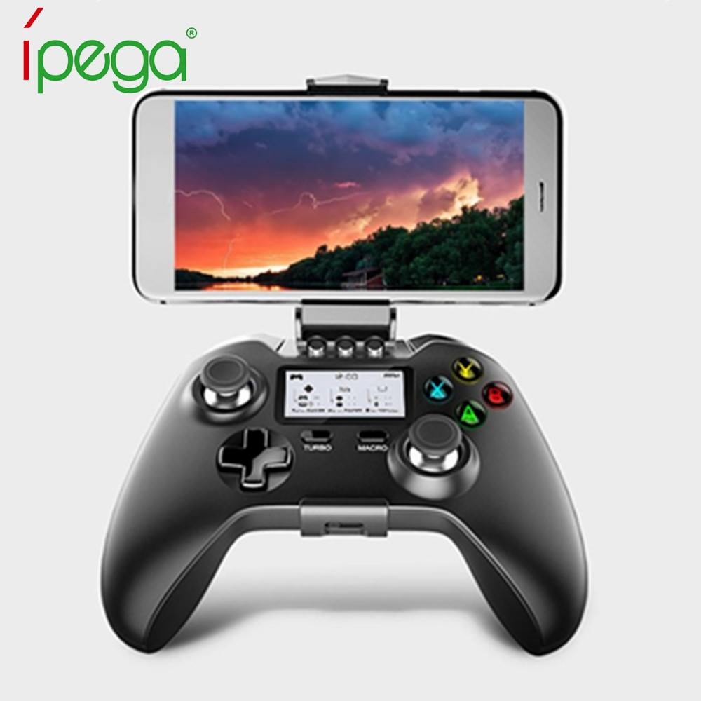 IPEGA PG9063 Wireless Bluetooth Gamepad PC Gamer Gaming Game Controller Smart Android TV Box Joystick For Xiaomi Smart Phone xunbeifang 2pcs for nes30 wireless bluetooth game controller gamepad bluetooth arcade game stick joystick for ios for android