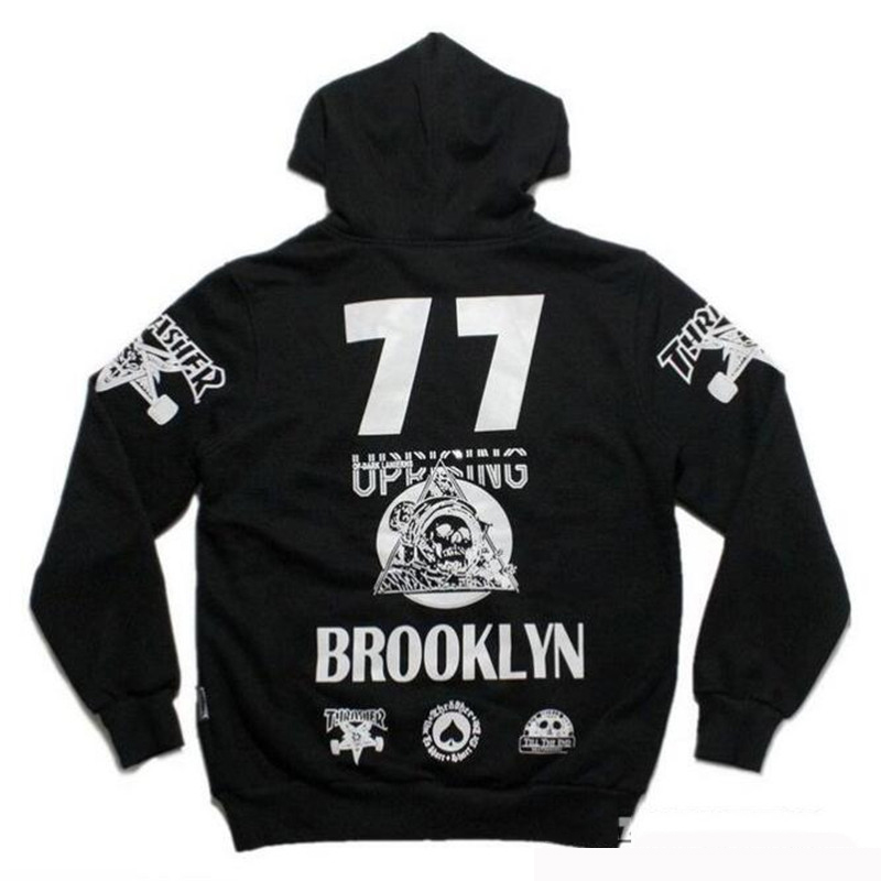 buy brand clothing men thrasher sweatshrts hip hop streetwear skateboard fashion hoodies 2016. Black Bedroom Furniture Sets. Home Design Ideas