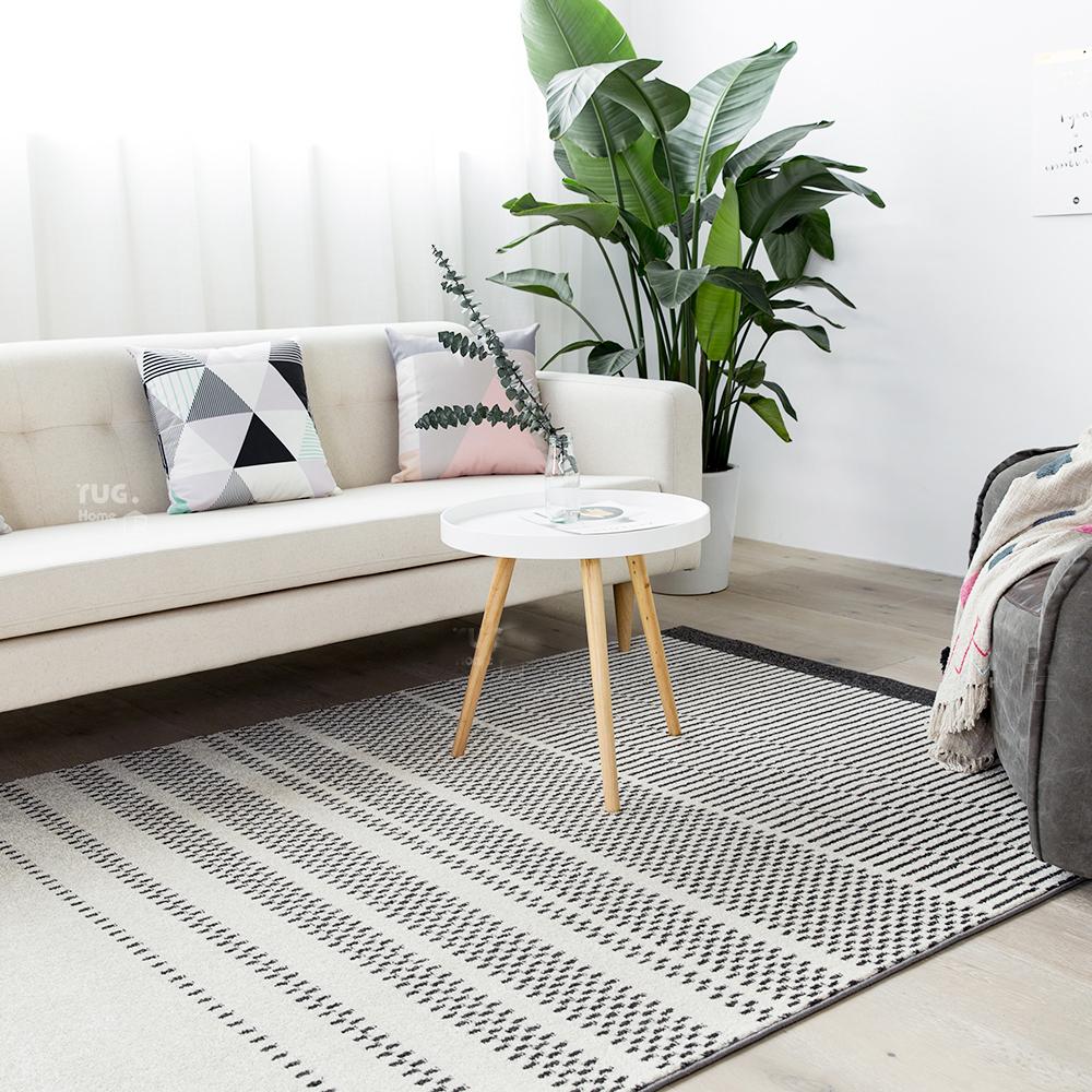Kilim 100 Cotton Handmade Carpet Geometric Bohemia Indian Black