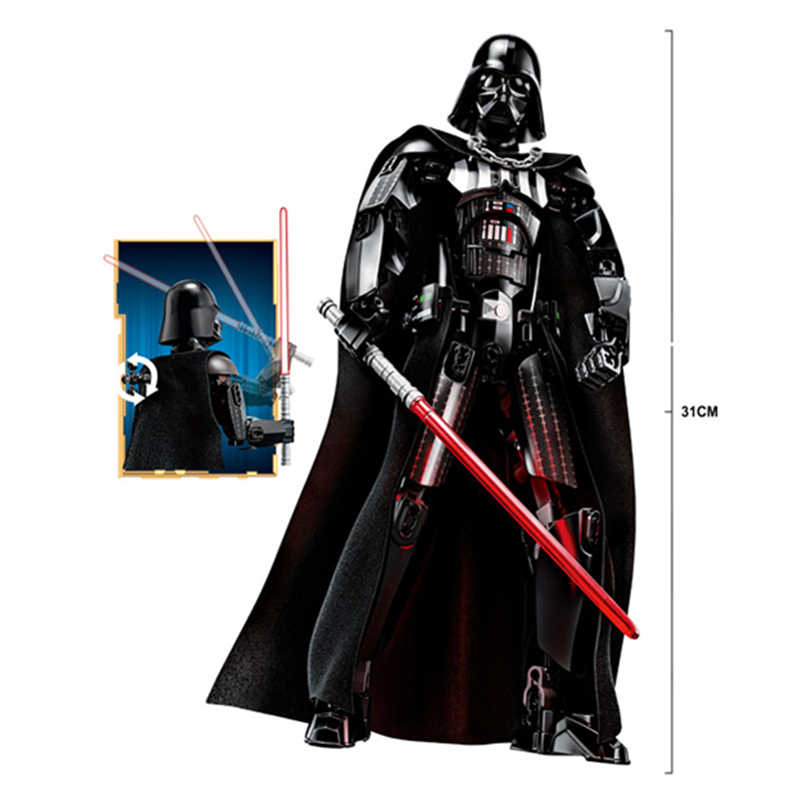 цены KSZ326 Star Wars Rogue One Toys Jango Phasma Jyn Erso K-2SO Darth Vader General Grievous Figure toy building blocks TOYS