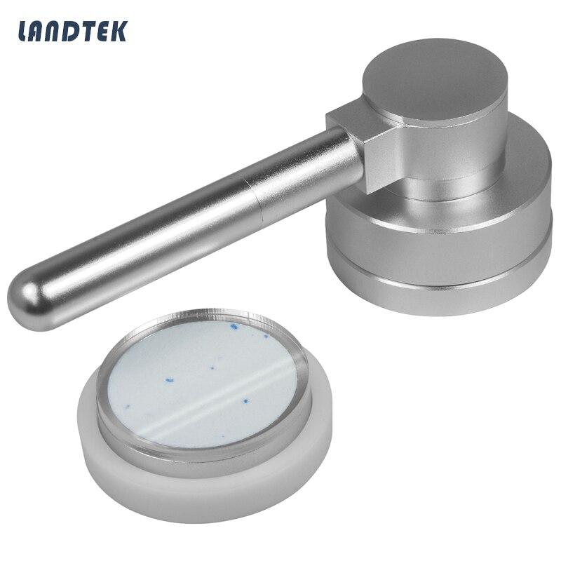 Presseur de poudre pour la mesure de blancheur de la poudre avec compteur de blancheurPresseur de poudre pour la mesure de blancheur de la poudre avec compteur de blancheur