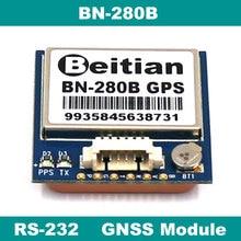 RS-232 RS232 gps ГЛОНАСС BEIDOU GNSS модуль, gps модуль с антенной и флэш, BN-280B