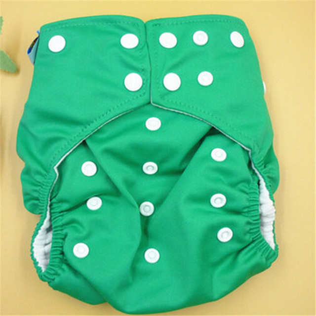 Hot Selling Pure Color Baby Nappy Charcoa Bamboo Baby Cloth Diaper