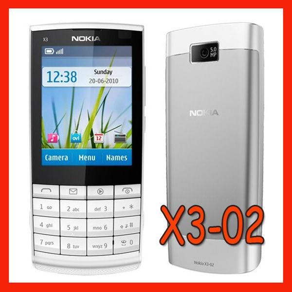 Цена за Горячие продажи Дешевых Телефон X3 02 в Исходном Nokia X3 02 Mobile Phone 3 Г Quad Band WiFi 5MP Мобильных Телефонов