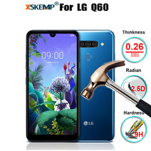 XSKEMP Tempered Glass For LG Q60 Premium Genuine Real Phone
