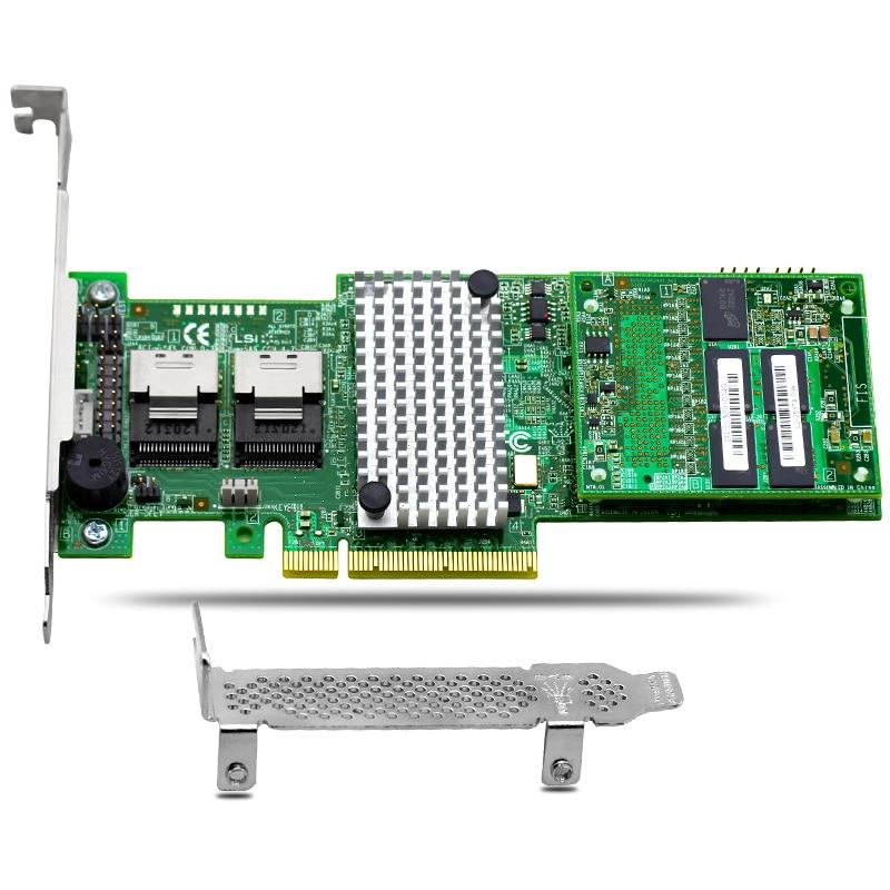 MegaRaid 9270-8i 1GB Cache 8 Port SAS SATA RAID Controller Card PCIe3.0 X8 6Gbps for hp p400 512m cache with battery 504023 001 013159 004 sas raid array